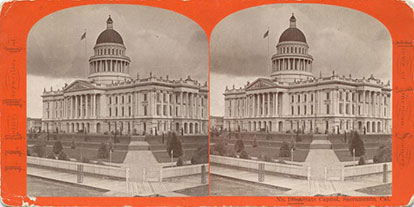From 1868 to the early 1880's Capitol Park, surrounded by a low picket fence